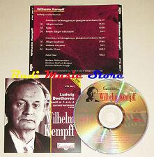 CD BEETHOVEN Concerti 1 4 WILHELM KEMPFF historic recording 1953 lp mc dvd