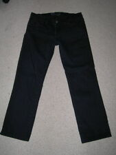 J BRAND JETT LOW RISE STRAIGHT LEG CROPPED CAPRIS STRETCH JEANS SIZE 29 28 27