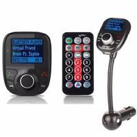 Bluetooth Car FM Transmitter Auto Kit MP3 Player Freisprechanlage USB SD AUX KFZ