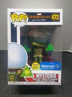 Funko Pop! Spiderman Far From Home Mysterio #473 Walmart Exclusice Glow in Dark