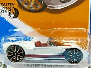 HOT WHEELS VHTF 2012 FASTER THAN EVER SERIES FORD GTX1