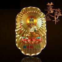 Tibetan Buddhist Gilding Kwan Yin Amulet Sticker Wall Poster Buy 2 get 1 free