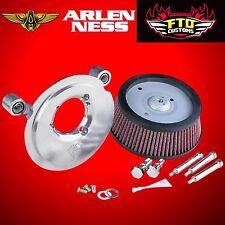 Arlen Ness Big Sucker Air Cleaner Intake Stage 1 Filter Kit Harley Sportster XL