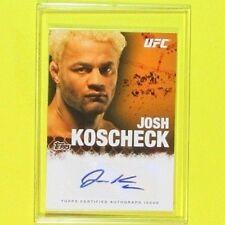 JOSH KOSCHECK  2010   AUTOGRAPH  Topps Certified   MMA
