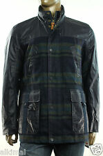 NEW MENS TOMMY HILFIGER 3 in 1 MIDNIGHT TURNER MOUNTAIN WOOL COAT JACKET S