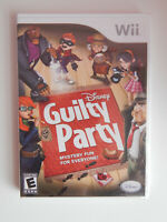 Disney Guilty Party Game New & Sealed! Nintendo Wii