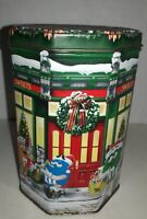 M&M christmas Tin ~ 1998 ~ Limited Edition Tin #8 ~ Mars inc.