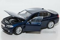 BMW 535i (F10) Saloon Metallic Blue, Welly 24026, scale 1:24, model adult gift
