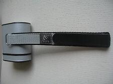 Nylon Watch Strap Band - Colour Light Grey 20mm