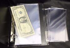 Lighthouse Currency Album Binder Modern Banknote + 20 Semi Rigid Topload Holder