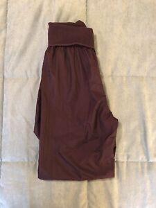 Purple Sansha Trash Bag Pants Size 3