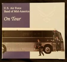 """US Air Force Band of Mid-America """"On Tour"""" Pre-owned CD"""