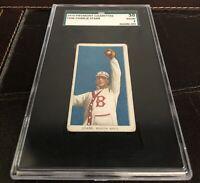 1909-1911 T206 Tobacco Charlie Starr Piedmont 350 SGC Graded 2GOOD Boston