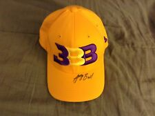 Autographed Lonzo Ball Hat Cap BBB UCLA Lakers PSA DNA Rookie Graph