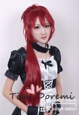Halloween Wig Cosplay Puella Magi Madoka Magica Sakura red long fashion Hair