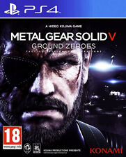 Metal Gear Solid V (5) Ground Zeroes ~ PS4 (in Great Condition)