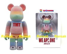 Medicom Be@rbrick 2012 Japan TMT we are one 100% Rainbow Flocked Bearbrick 1pc