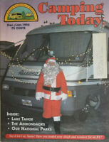 Camping Today Magazine Dec/Jan 1996 - Santa Claus - Allegro RV - Lake Tahoe VG
