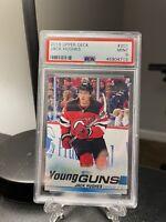 2019 Upper Deck Young Guns - Jack Hughes - #201- Devils - Rookie RC- PSA 9 Mint