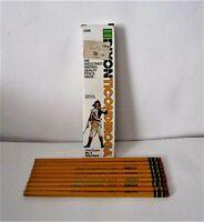 Vintage Dixon Ticonderoga Wood-Cased Pencils #4 Extra Hard #1388 New Lot of 9