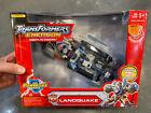 2004 Hasbro Transformers Energon Command Class Landquake Powerlinx MISB For Sale