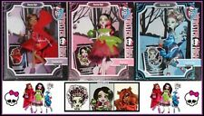 Monster High SCARY TALES FairyTale 3 Doll Set Bundle Frankie Draculaura Clawdeen