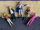 Batman Figures NJ Croce Bendable Bundle DC Universe heros and villains