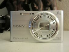 Sony Cyber-shot DSC-W730 16.1MP Digital Camera - Silver