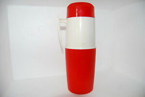 Rare Vintage Retro 1960's Red & White Thermos Brand No 64 Made In England