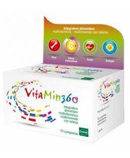 VITAMIN 360 Integratore Multivitaminico Multiminerale completo 70 Cpr antiossida