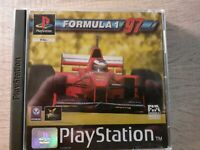 Formula 1 97 (Sony PlayStation 1, 1997) - European Version *TESTED AND WORKING*