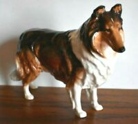 Rare Size Royal Doulton Collie Made in England Bone China Figurine Reduced Price