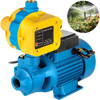 Electric Peripheral Pump QB80 w/Controller Irrigation Tank Clean Water 750W 1HP