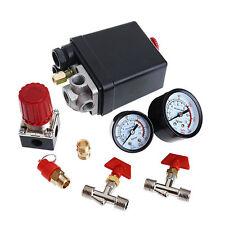 "Presostato para compresor de aire comprimido 240v 1/4"" Regulador Presión"