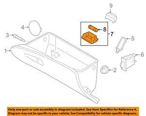 HYUNDAI OEM 89-05 Sonata-Glove Compartment Box Light 9262033000