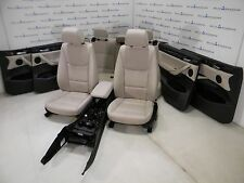BMW X3 F25 Lederausstattung Satz Sitze Seats Leder Leather NEVADA OYSTER