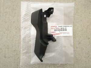 13 - 18 TOYOTA TUNDRA BASE FRONT LEFT SIDE STEERING WHEEL SPOKE COVER BLACK NEW