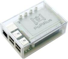 Pi Supply-papirus Case-Raspberry Pi et papirus Hat Case-Clear