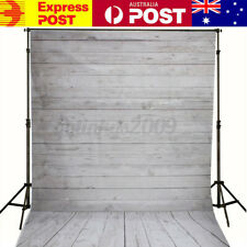 AU 5ftx7ft Wooden Wall Floor Photography Background Photo Backdrop Studio