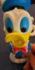Donald Duck, Lollipop, My Boy - Set of Three Vintage Baby Teethers/Rattles