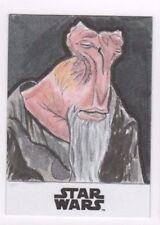 2017 Star Wars Journey to the Last Jedi sketch card Scott Jones