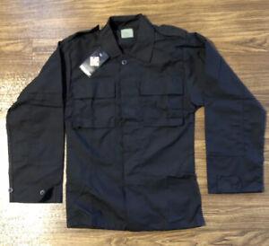 Tru-Spec Tactical Shirt Black X Small Regular Military BDU Style