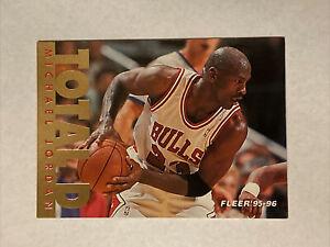 1995-96 Fleer Michael Jordan Total D #3 Chicago Bulls