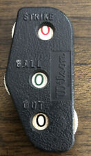 VINTAGE WILSON BASEBALL UMPIRE COUNTER FOR BALLS, STRIKES, AND OUTS