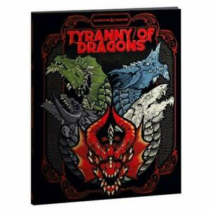 Tyranny of Dragons Alternate Variant Cover Dungeons Dragons RPG DnD d20
