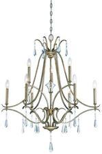 Minka Lavery 4449-582 Laurel Estate 9-Light 2-Tier Chandelier - Brio Gold