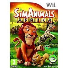 Wii Spiel SimAnimals Sim Animals Afrika Africa