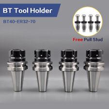 SFX 4Pcs BT40-ER32-70 Tool Holder CNC Machine Tool Equipment BT40 Collet Chuck