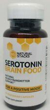 Natural Stacks Serotonin Brain Food Brain Supplement 30 Day Supply 60CT