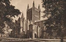 1910's VINTAGE HEREFORD CATHEDRAL NW POSTCARD FRITH'S Series #773B BUILT in 1079